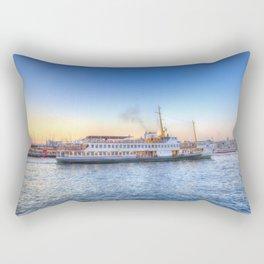 Pleasure Cruise Boat Istanbul Rectangular Pillow