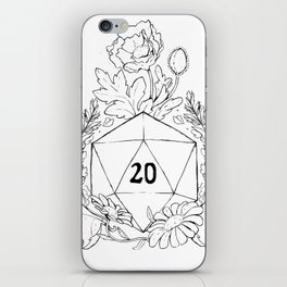 Plant Secrets: D20 iPhone Skin