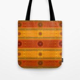 """Ethnic Pattern Warm Tones II"" Tote Bag"