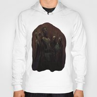 zombies Hoodies featuring Zombies! by Adam Howie