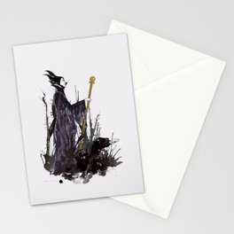 Maleficent Stationery Cards