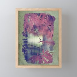 maple leaf love Framed Mini Art Print