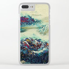 Dream landscape Clear iPhone Case