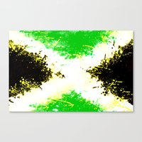 jamaica Canvas Prints featuring Jamaica dream by seb mcnulty