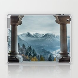 The view - Neuschwanstin casle Laptop & iPad Skin