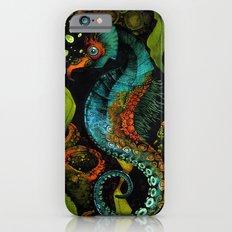 Seahorse in Blue iPhone 6s Slim Case