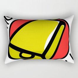 More Cowbell Rectangular Pillow