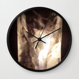 Fire from Ice - FredPereiraStudios.com_Page_22 Wall Clock