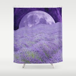 LAVENDER MOON Shower Curtain