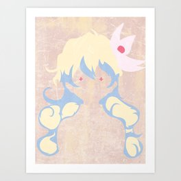 Minimalist Nia Art Print