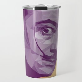 Salvador Dali Low Poly Collection Travel Mug