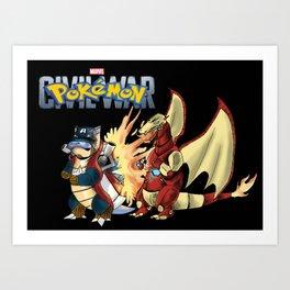 Pokémon: Civil War Art Print
