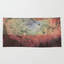 Chaos and Palm Trees Beach Towel