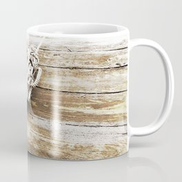 Nautical Rope in Sepia Coffee Mug