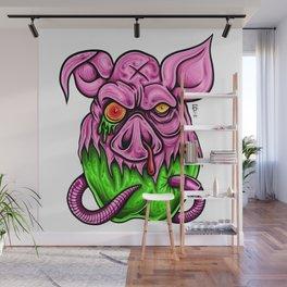 Bad Apple Wall Mural