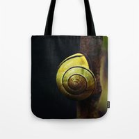 snail Tote Bags featuring Snail by LoRo  Art & Pictures