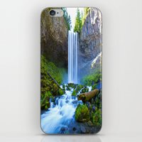 waterfall iPhone & iPod Skins featuring Waterfall by 2sweet4words Designs