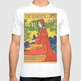 The Quartier Latin: A Magazine Devoted to the Arts T-shirt