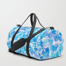 Watercolor Floral V Duffle Bag