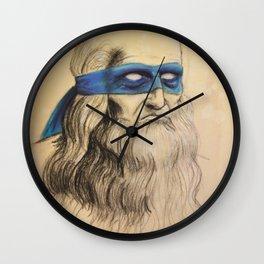 Leo TMNT Wall Clock
