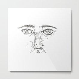 Line XVIII (me) Metal Print