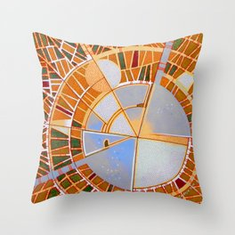 The cities of the moon Throw Pillow