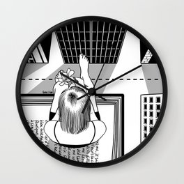 The End of the Story Wall Clock
