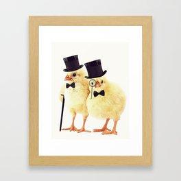 Not CHEEP (Version 1) Framed Art Print