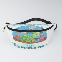Summer and Turtles is My Therapy Fanny Pack