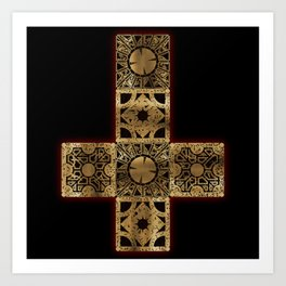 Lament Configuration Cross Art Print