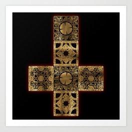 Lament Configuration Cross Art Print