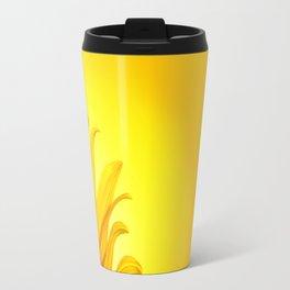 Sunflower Yellow Travel Mug