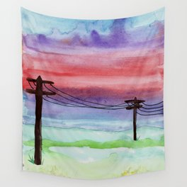 skyscapes 4 Wall Tapestry