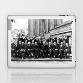 World-Renowned Physicists of 1927 at Solvay Conference Laptop & iPad Skin