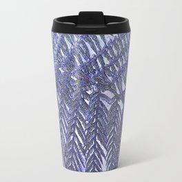 Fern Abstract Travel Mug
