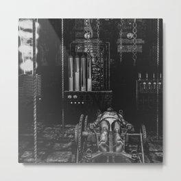 Frankenstein's Monster In The Lab Metal Print