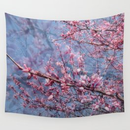 Redbud Blooms Wall Tapestry
