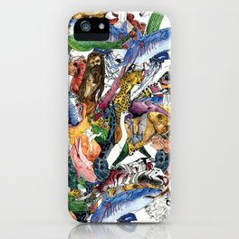 Morning Teleportation Expanding Anyway album cover art iPhone Case