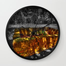 The Water Trough Wall Clock