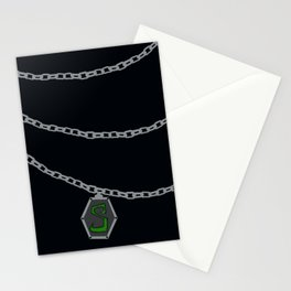 Slytherin Locket Horcrux Stationery Cards