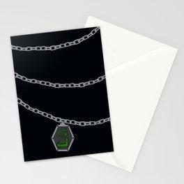 Slytherin Locket Horcrux Stationery Cards