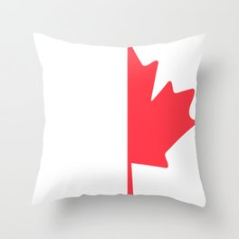 Maple Gift Plant Give Leaf Throw Pillow