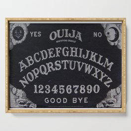Ouija Board Serving Tray