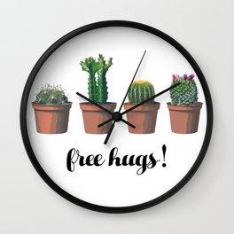 Free Hugs, Cactus Wall Clock