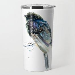 Black Cuckoo Travel Mug