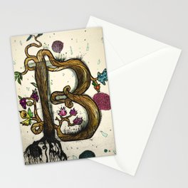 "Type series ""B"" Stationery Cards"