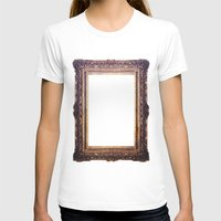 frame T-shirts featuring Frame by GetNaked