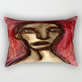 And the Memory was Marred. Rectangular Pillow