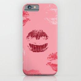 Lipstick Print iPhone Case