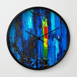 BlueMagic Wall Clock